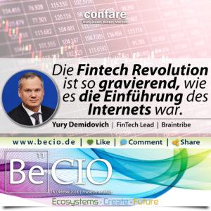 Be CIO Braintribe Fintech