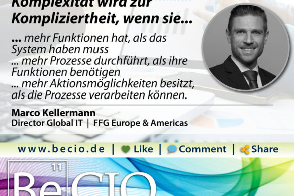 Be CIO Kellermann