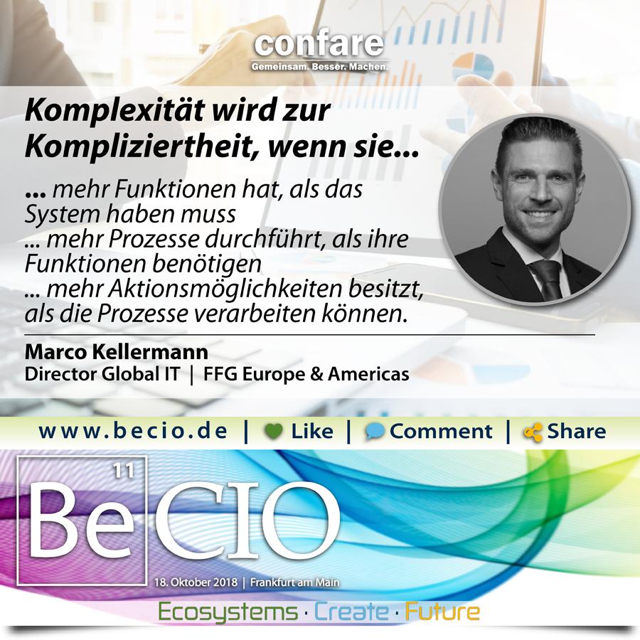 Be CIO Kellermann