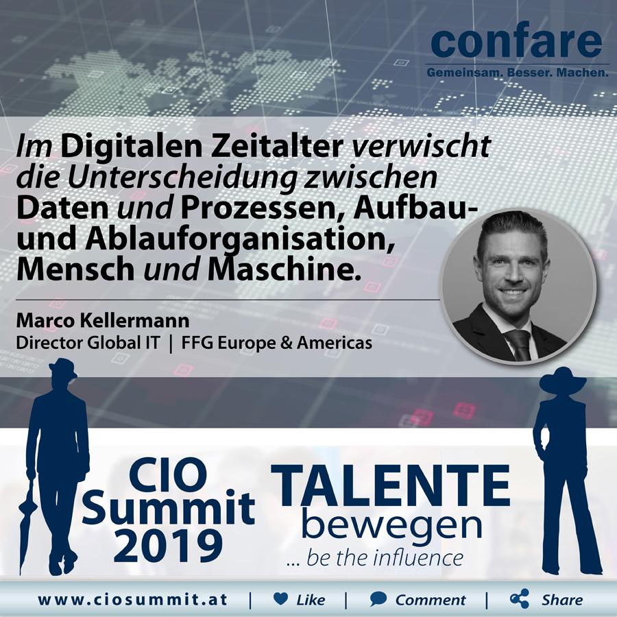 CIO Summit - Marco Kellermann