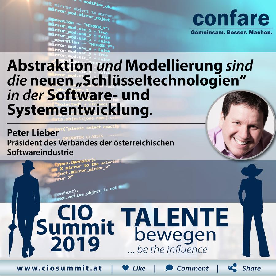 CIO Summit - Peter Lieber