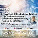 Swiss CIO Markus Fuhrer
