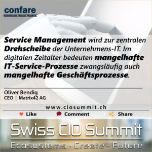 Swiss CIO Service Management