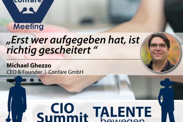 CIO Summit 2019- MessedUp Meeting