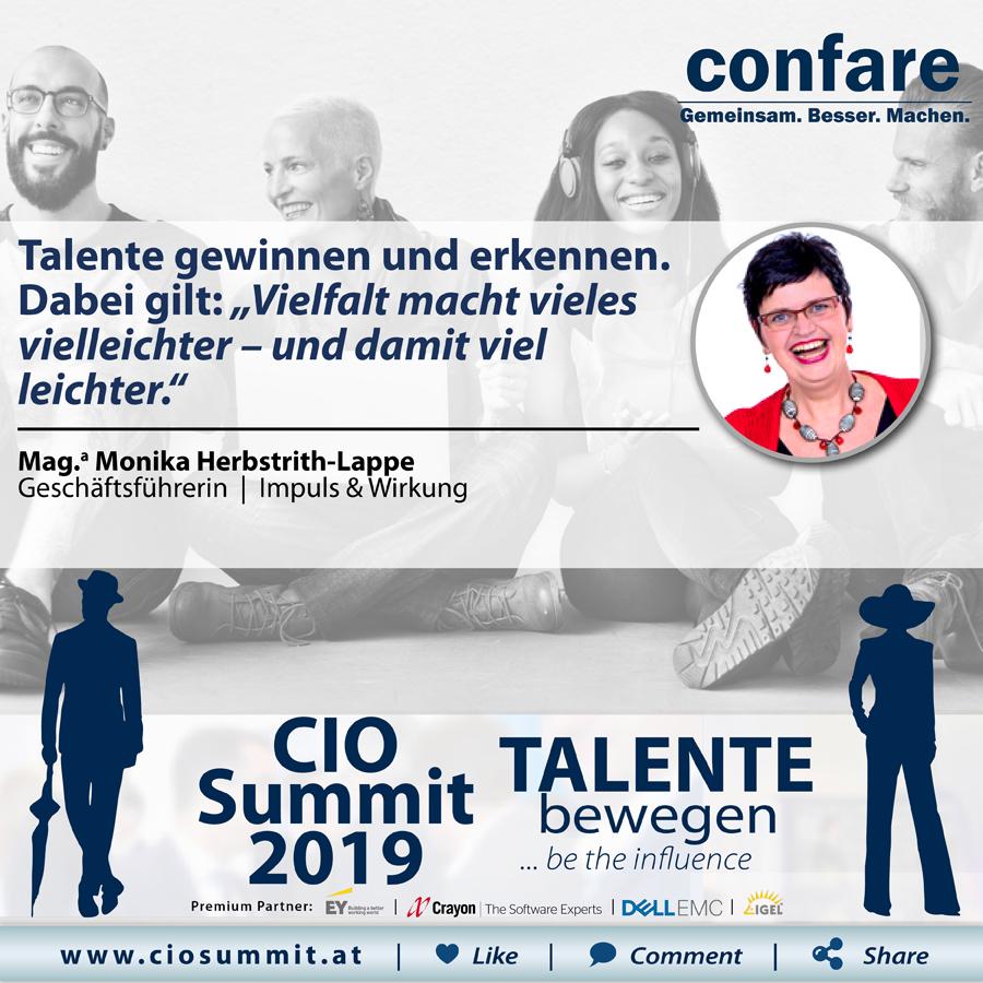 CIO Summit - Vielfalt Talente
