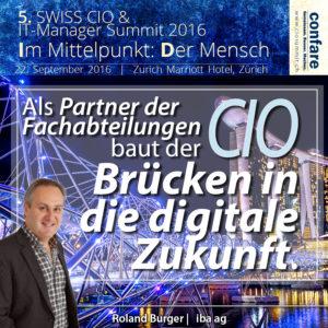 7402 Roland Burger CIO iba AG - dem größten Schweizer Versandhändler für Büroartikel