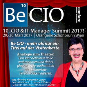 7501-becio-Monika Herbstrith-Lappe: Be CIO und was das Motto des Confare CIO SUMMIT bedeutet-theater