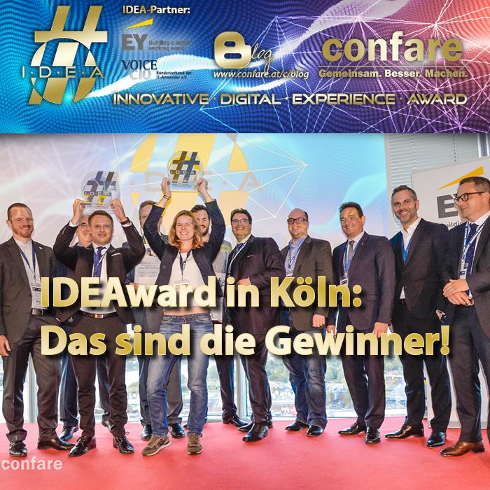 IDEA-DE: Das sind die Gewinner 2017
