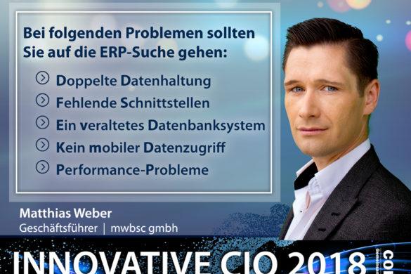Innovative CIO - ERP Suche