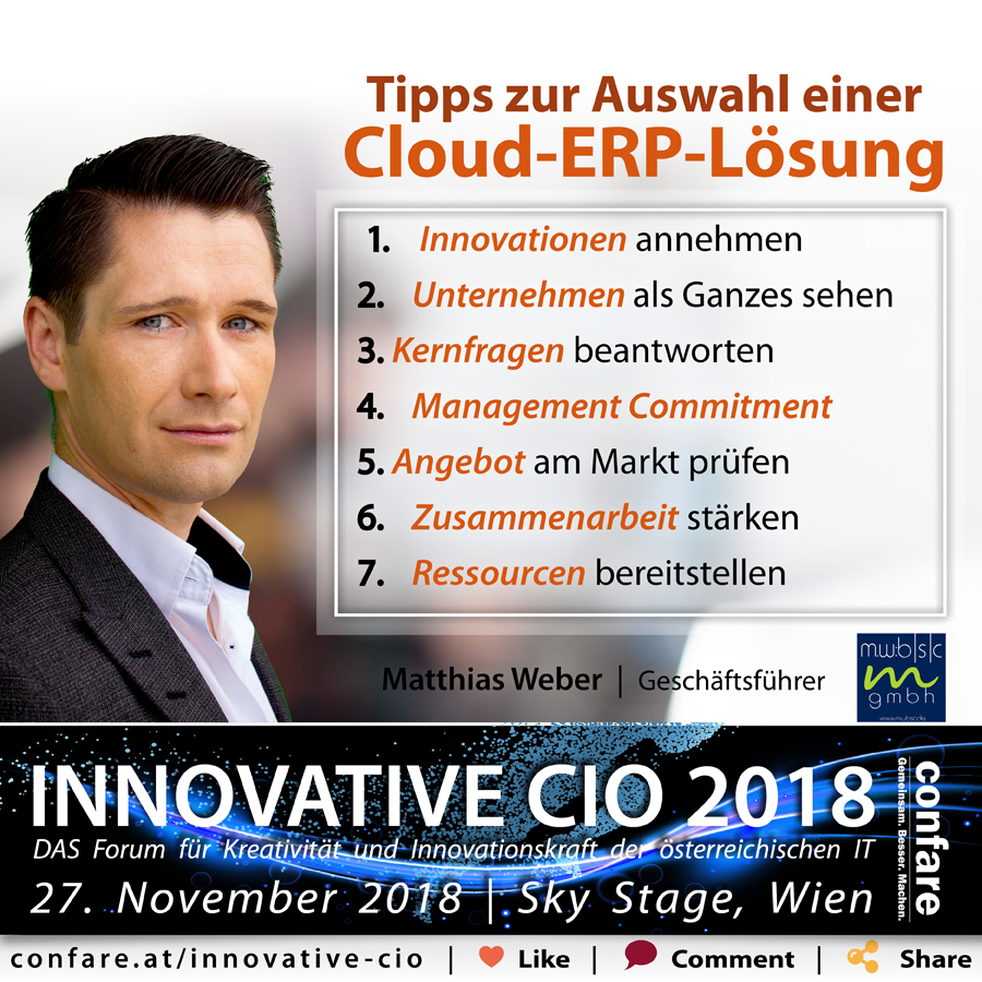 Innovative CIO - Weber