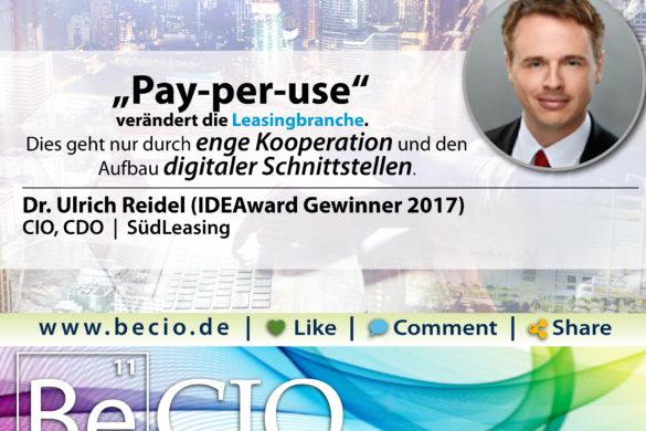Ulrich Reidel, SüdLeasing
