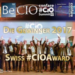 Swiss CIO AWARD Gewinner