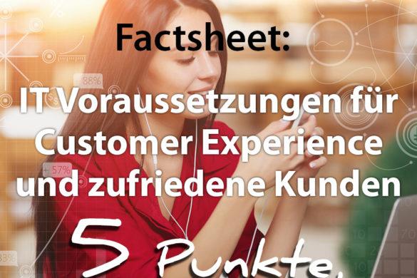 Factsheet Customer Experience