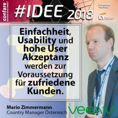Mario Zimmermann, Veeam