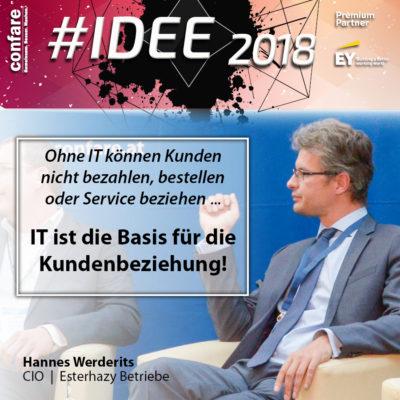 Hannes Werderits, Esterhazy