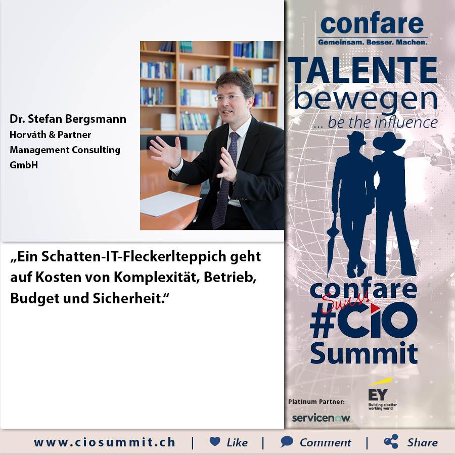 Meme CIO Summit 2019 - Stefan Bergsmann 2