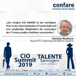 Meme CIO Summit 2019 - Christian Neubauer 2
