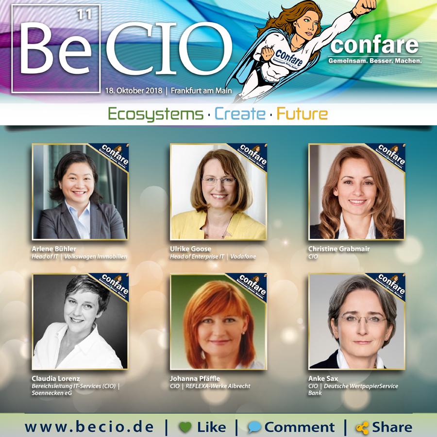 Top weibliche CIOs Deutschland