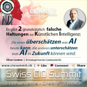 Swiss CIO Summit - Lindner_KI-Haltungen