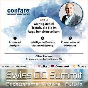 Swiss CIO Summit - Lindner_KI-Trends