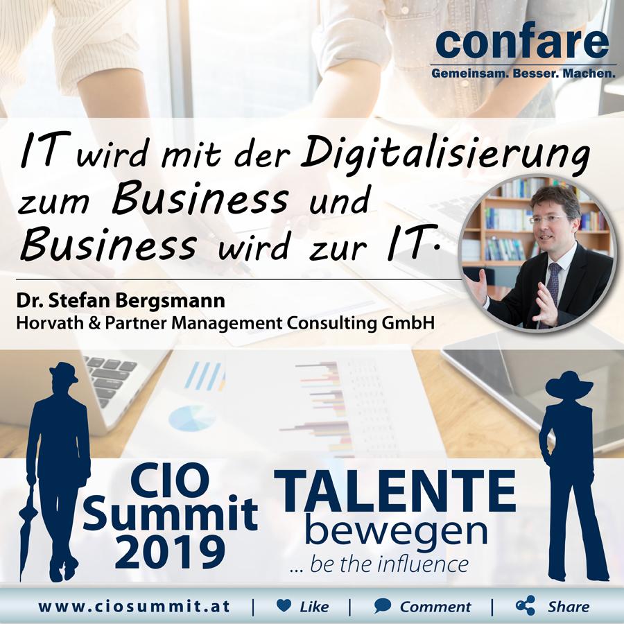 CIO Summit - Stefan Bergsmann
