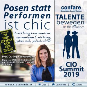 CIO Summit 2019 - Evi Hartmann_Posen statt Performen