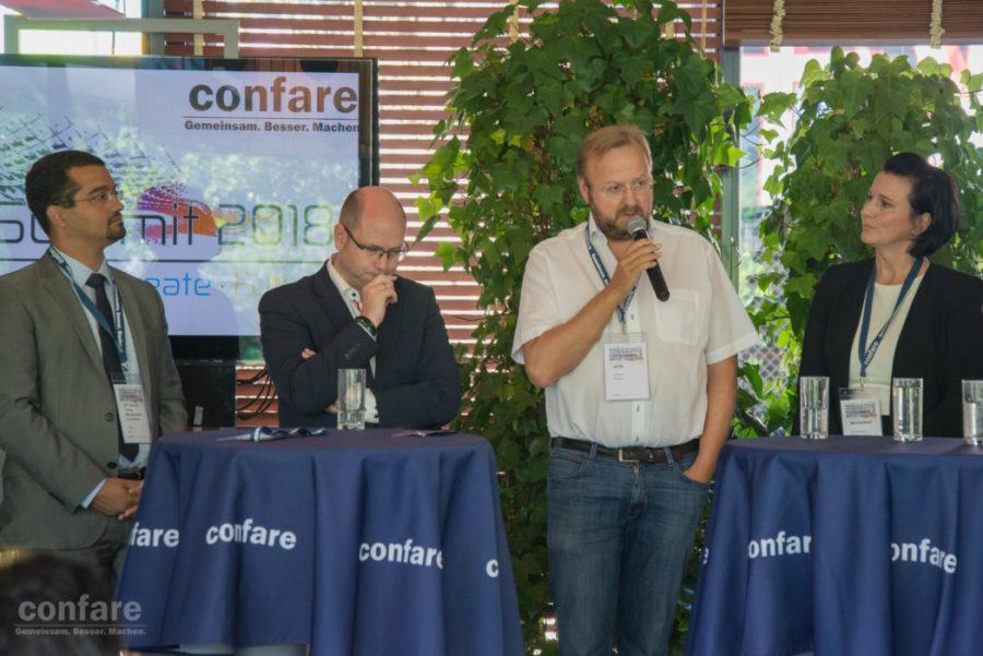 Anton Leitner am CIO Motto-Launch 2017
