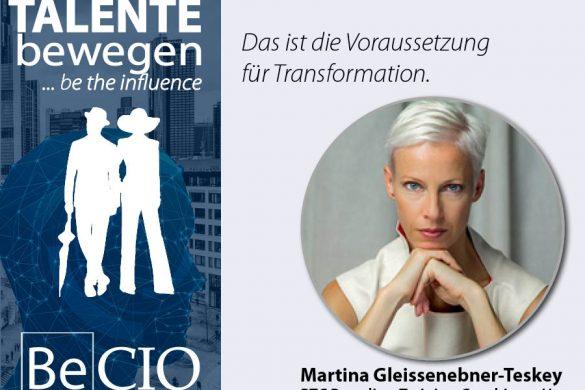 Meme Be CIO Summit 2019 - Martina Gleissenebner-Teskey 2