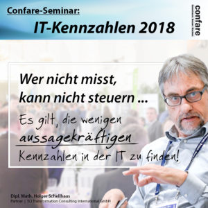 IT-Kennzahlen 2018: Wer nicht misst, kann nicht steuern!