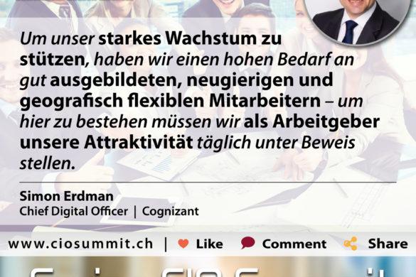 Swiss CIO Simon Erdmnann