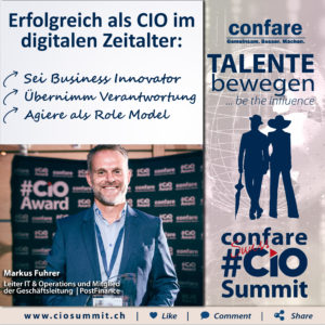 Swiss CIO Summit - Markus Fuhrer