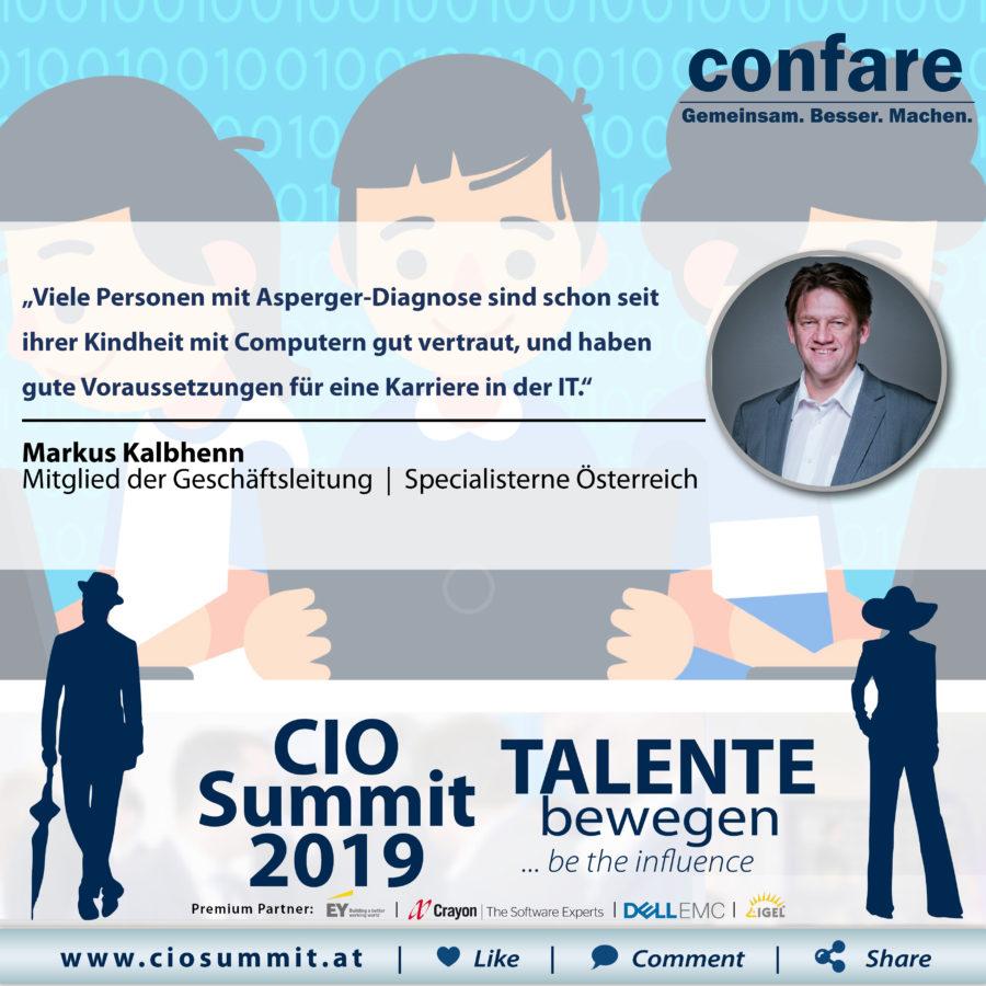 CIO Summit - Markus Kalbhenn (kognitive Diversity)