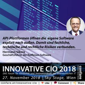 Innovative CIO - Hermann Sikora