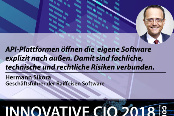 Innovative CIO - Hermann Sikora