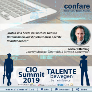 CIO Summit - Gerhard Raffling