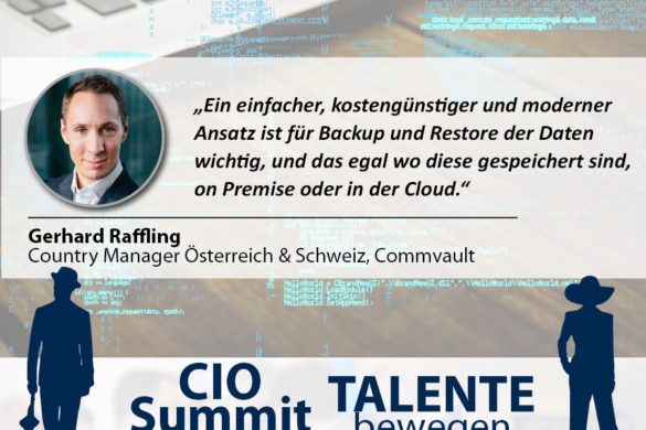 CIO Summit - Gerhard Raffling