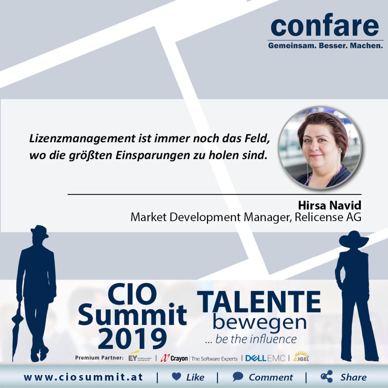 CIO Summit 2019 - Hirsa Navid
