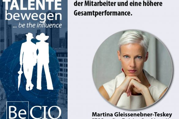 Meme Be CIO Summit 2019 - Martina Gleissenebner-Teskey