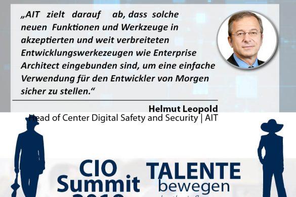 Meme CIO Summit 2019 - Helmut Leopold