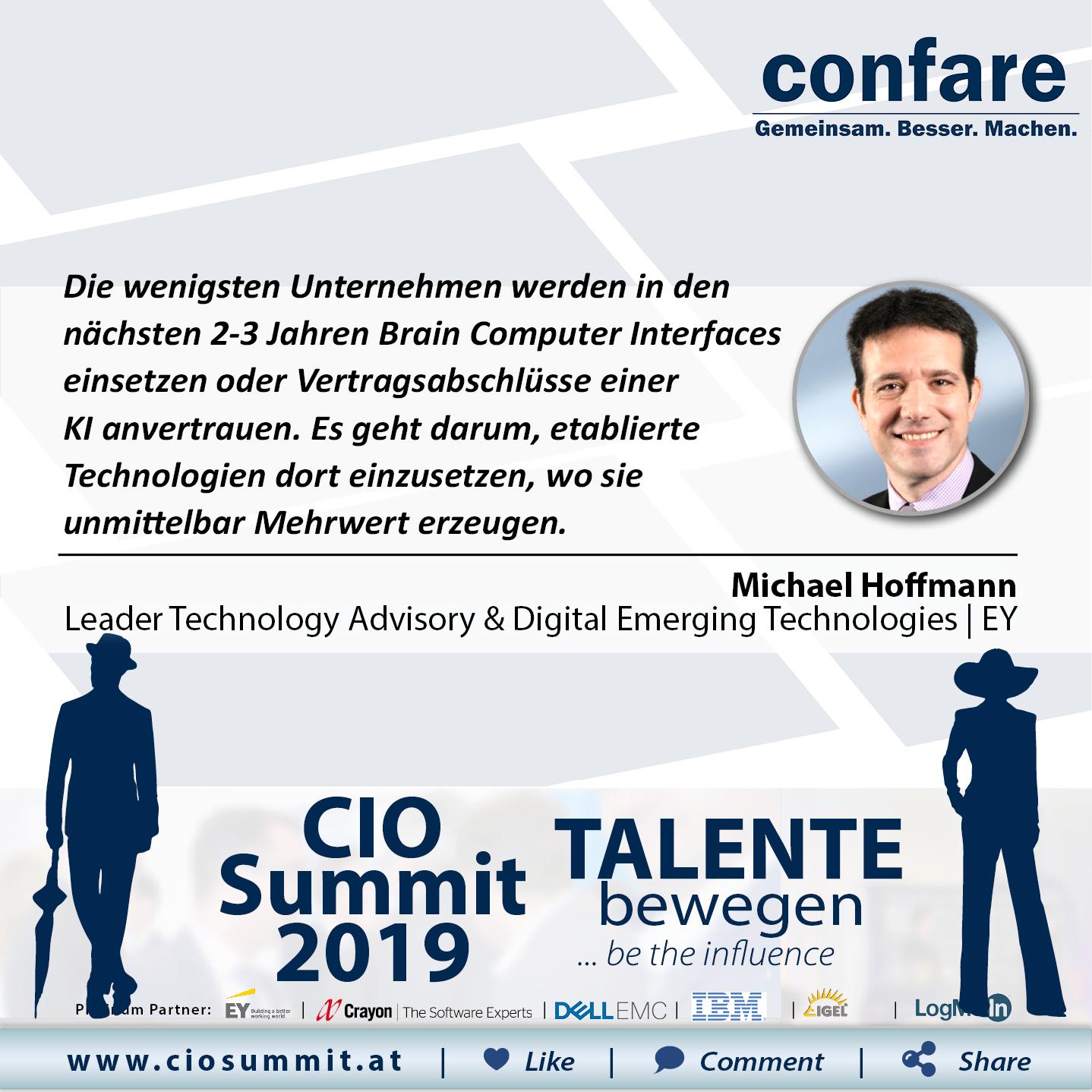 Meme CIO Summit 2019 - Michael Hoffmann
