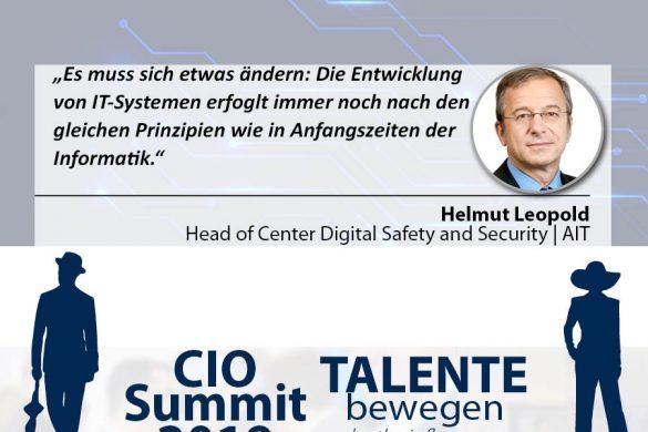 Meme CIO Summit 2019 _ Helmut Leopold