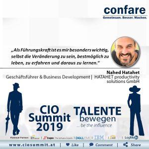 Meme CIO Summit 2019 - Nahed Hatahet