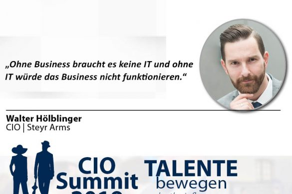 Meme CIO Summit 2019 - Walter Hölblinger 2