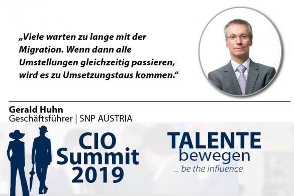 Meme CIO Summit 2019 - Gerald Huhn 1
