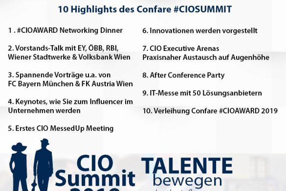 Meme CIO Summit 2019 - Highlights