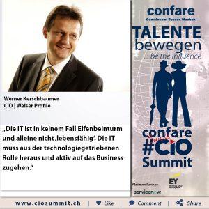 Meme CIO Summit 2019 - Werner Kerschbaumer