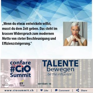 Meme CIO Summit 2019 - Martina Gleißenebner-Teskey 3