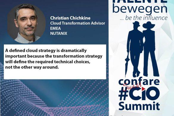 Christian Chichkine über die 5 wichtigsten Punkte eines Cloud -Strategiepapiers