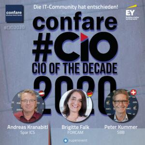 Confare CIO of the Decade