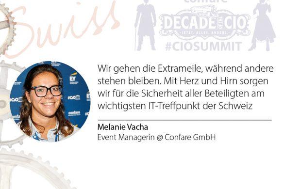 Melanie Vacha - Swiss CIOSUMMIT